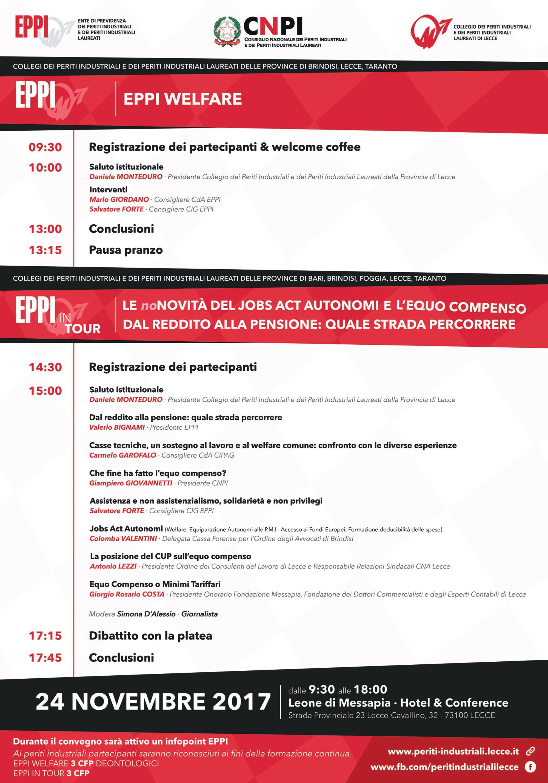 EPPI Welfare ed EPPI in Tour