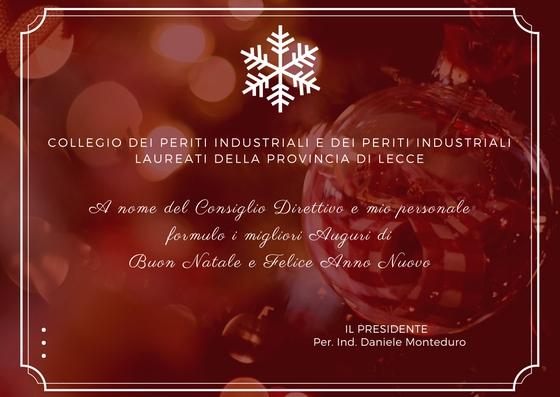 Auguri Di Buon Natale Ufficio.Chiusura Ufficio Segreteria E Auguri Festivita Ordine Dei Periti